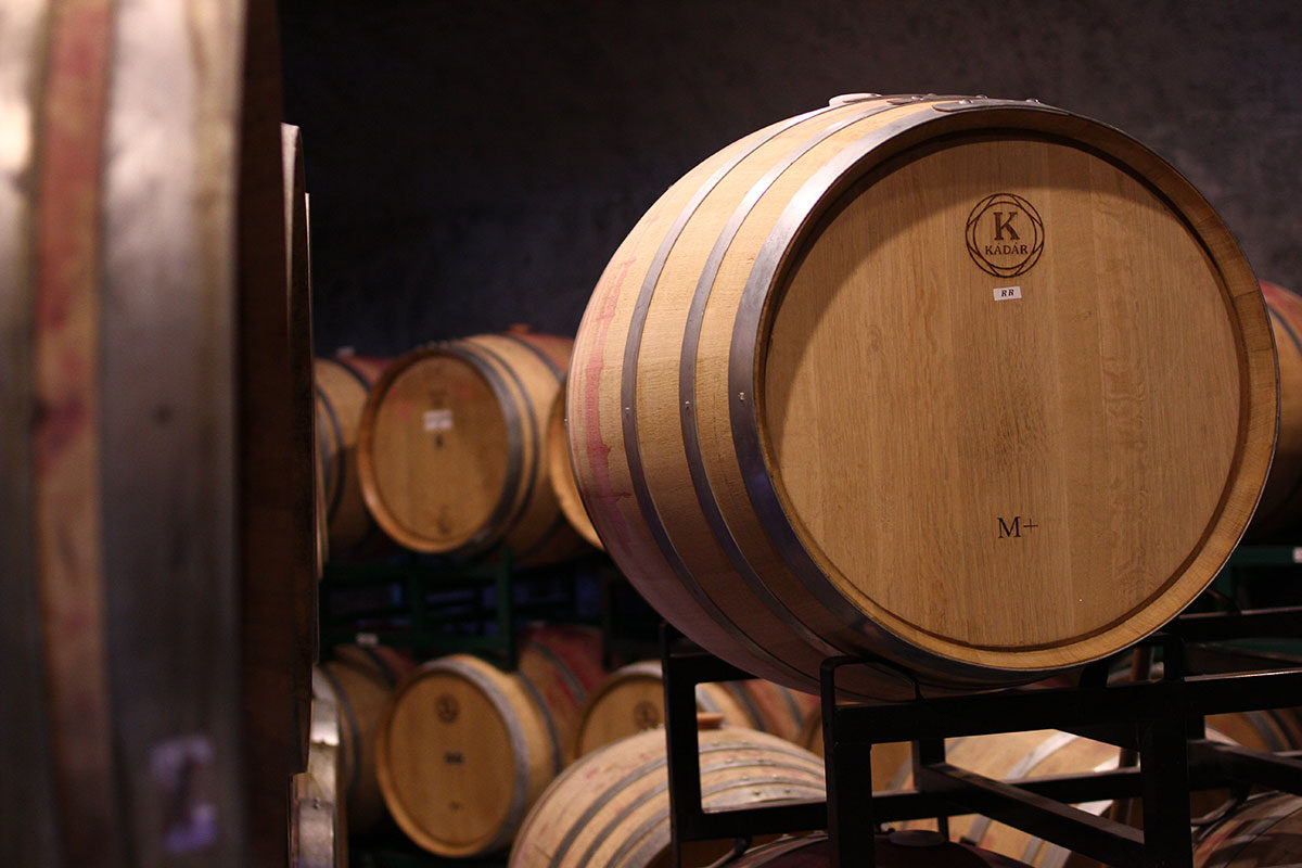 Our Barrel Room